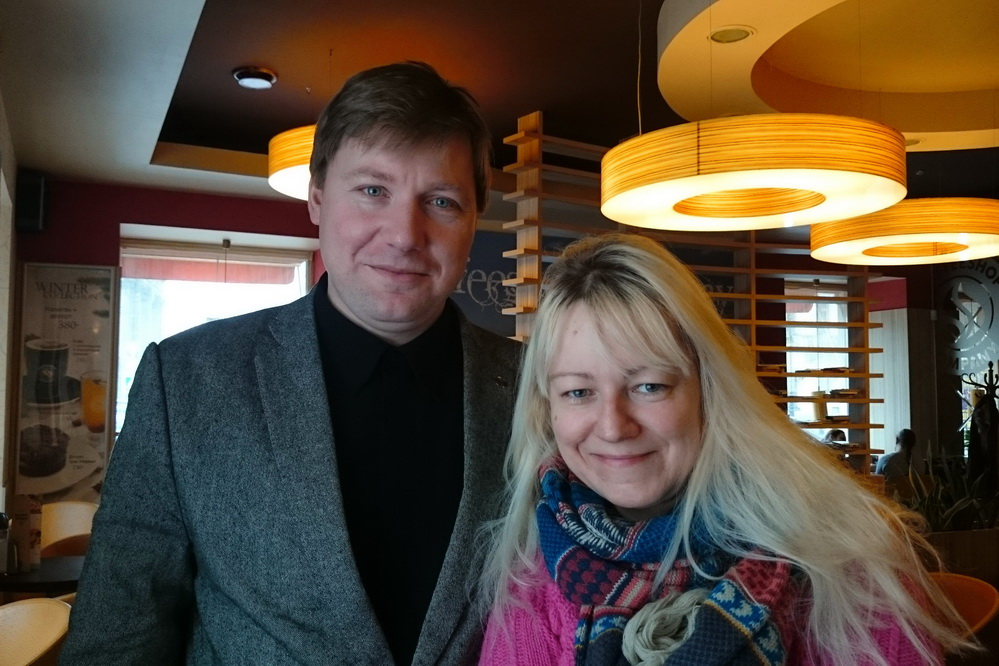 Алексей Гайдуков и Марина Воробьёва (Упельсинка), 2015