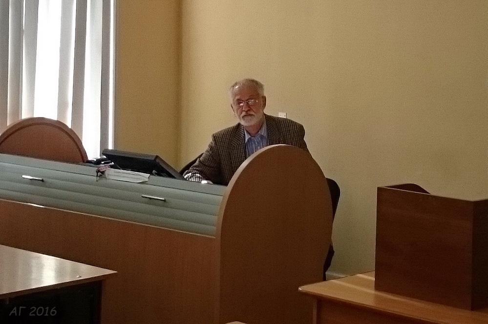 В.А. Шнирельман в РГПУ им. А.И.Герцена, 21.04.2016
