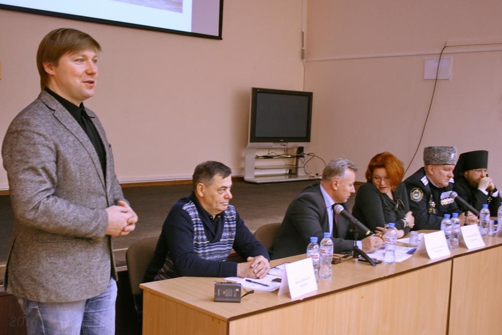 А.В. Гайдуков, приветствие участников рабочей встречи,  Тихвин, 25.11.2016