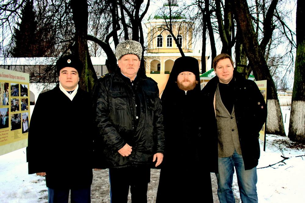 Казаки. иеромонах Венедикт Шустов, А.В. Гайдуков, Тихвин, 25.11.2016