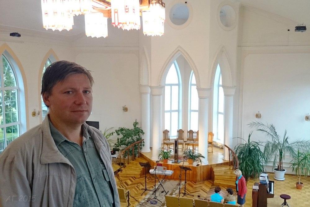у адвентистов, Нижний Новгород, 29.08.2015