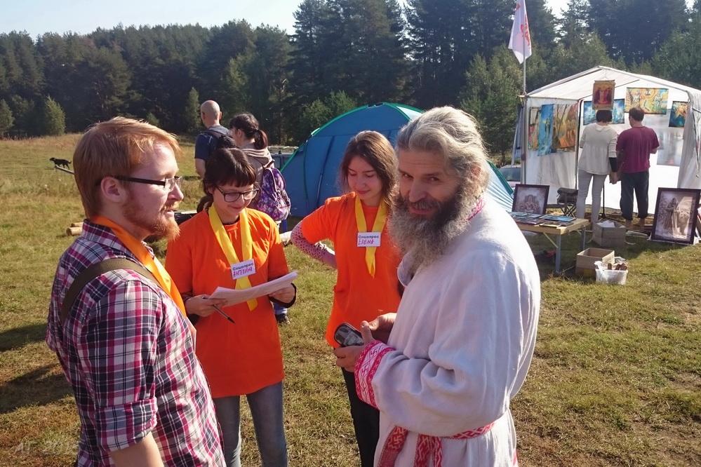 """Соцопрос, фестиваль """"Славянский спас"""", 13.09.2015"""