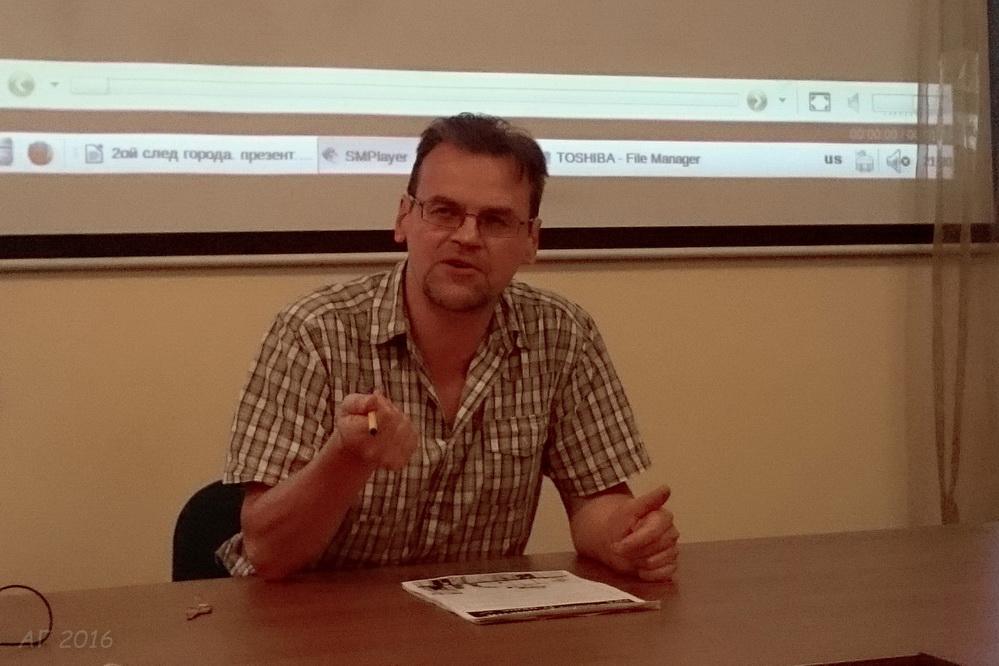 """Владимир Егоров, Семинар """"Город и религия"""", РХГА,17.06.2016"""
