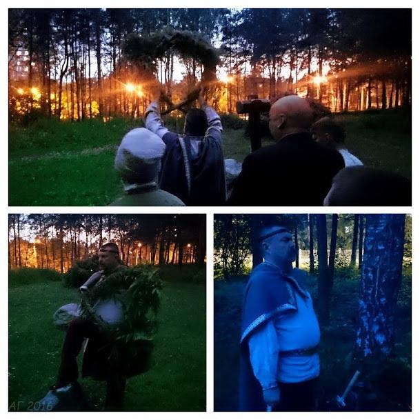 Владимир Богумил Втророй (Голяков) и Схорон еж славен, Купала, 22.06.2016