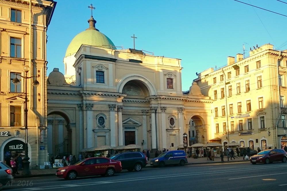 Базилика св. Екатерины Александрийской в Санкт-Петербурге, 16.03.2016