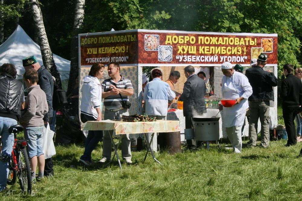 Тосненский Сабантуй, п. Шапки, 04.06.2016