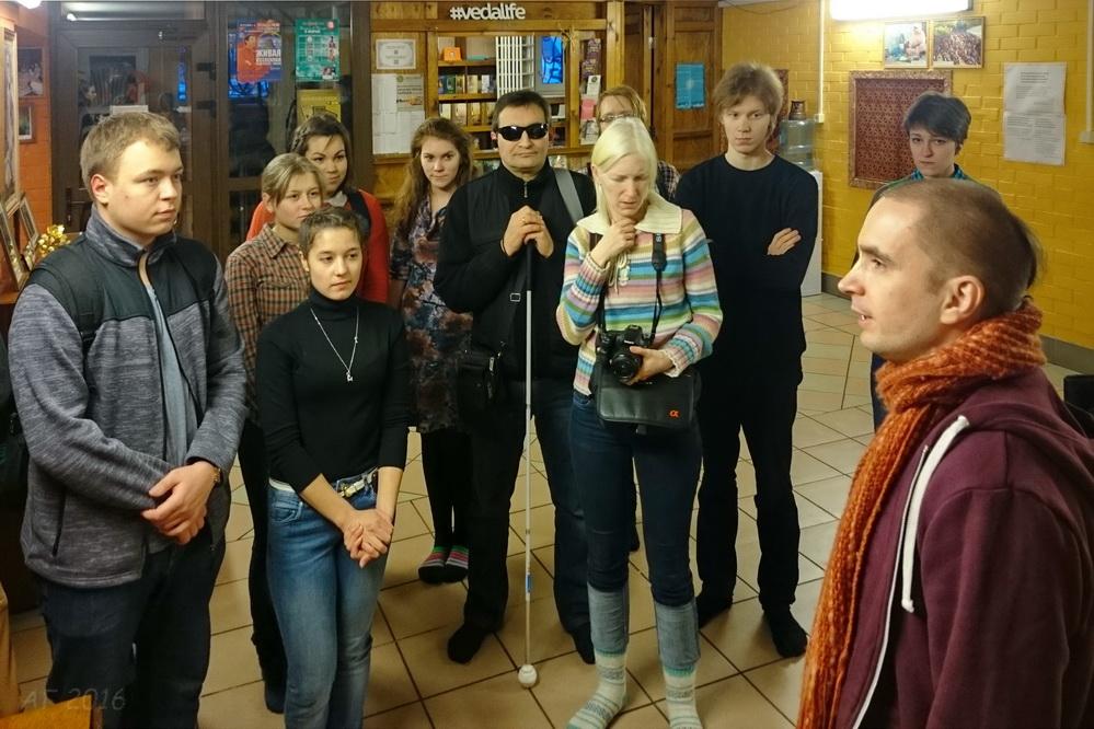 Посещение вайшнавов, СПб., 20.02.2016