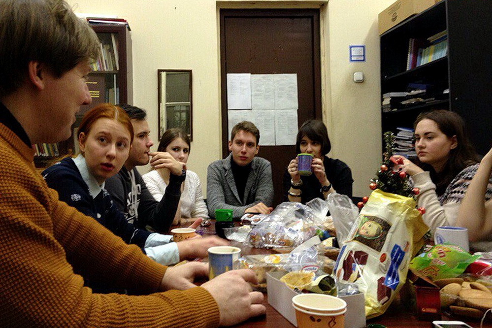 Встреча религиоведов 1 курса после сессии, 18.01.2017