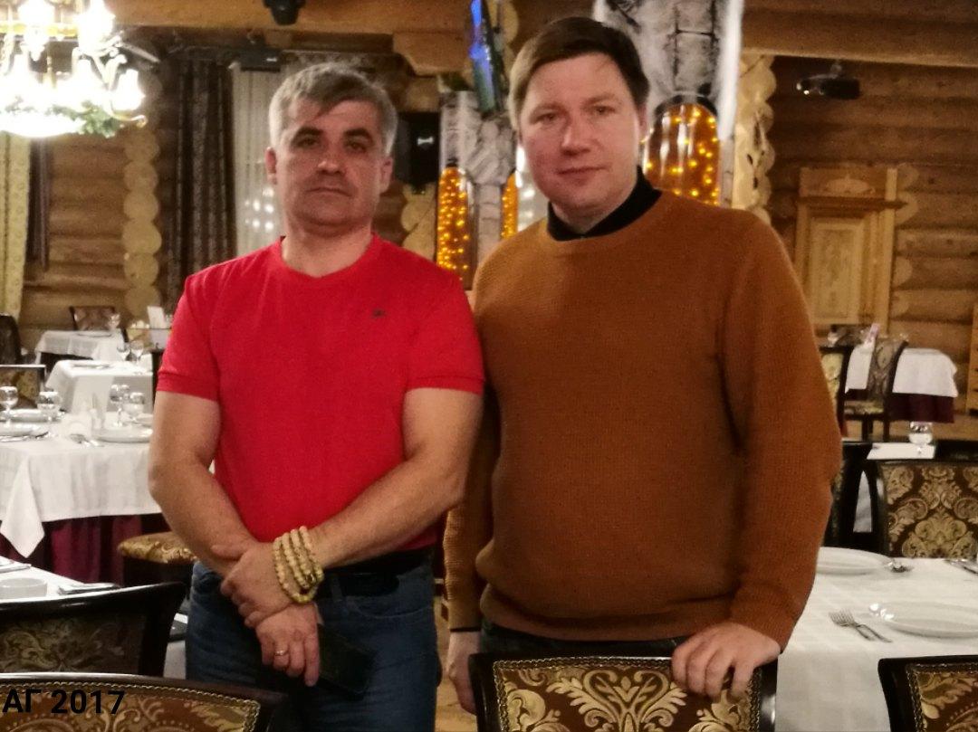 А.В.Гайдуков и Вад Кручина, Казань, 12.11.2017