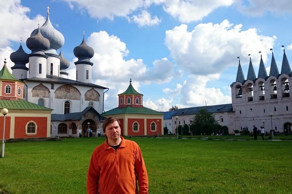 А.В. Гайдуков,  Тихвинский  Богородичный Успенский мужской монастырь, 21.08.2016