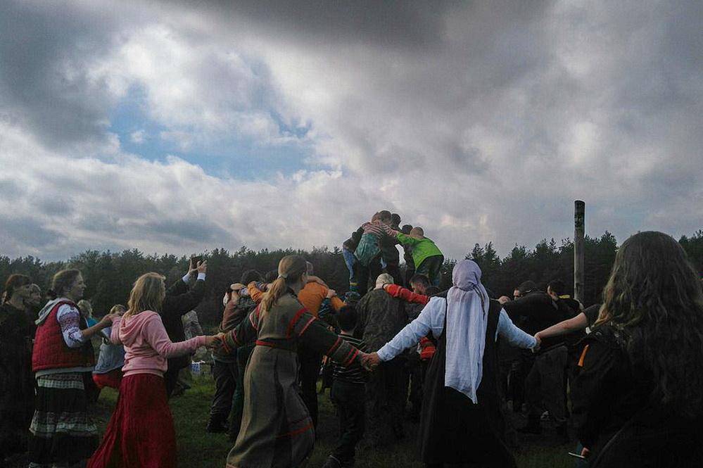 Хороводы. Фестиваль «Славянский Спас», 11.09.2016