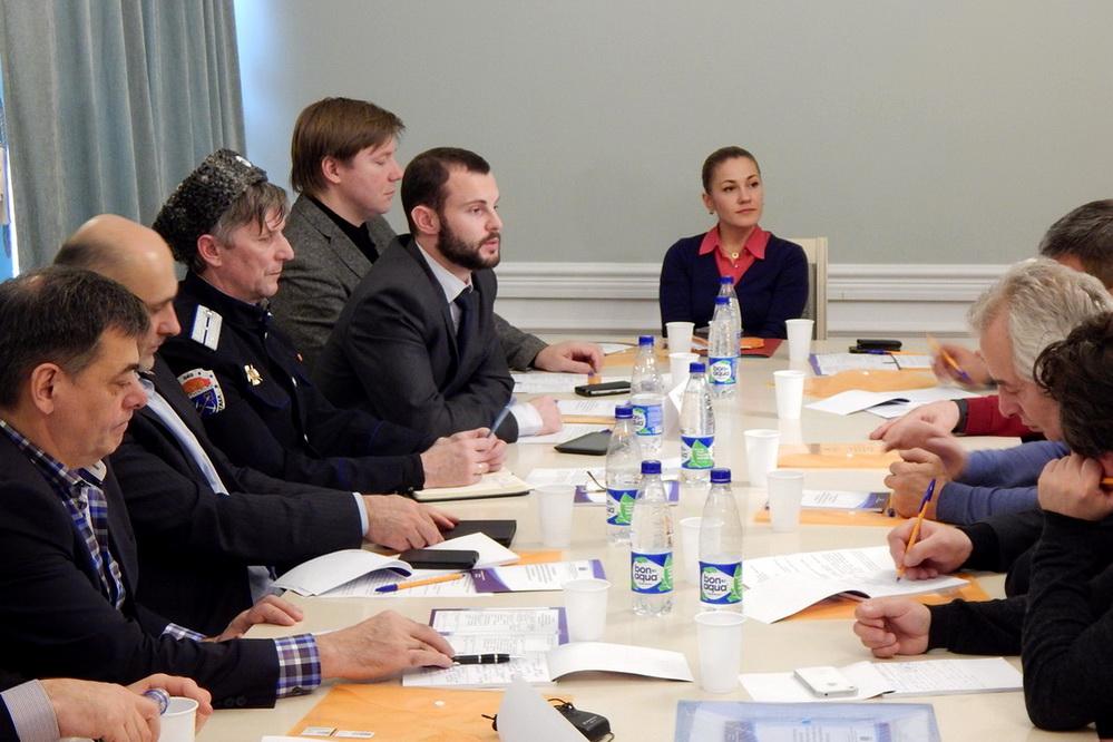 Рабочая встреча с представителями национальных и религиозных общественных организаций Ленинградской области, Выборг, 28.10.2016