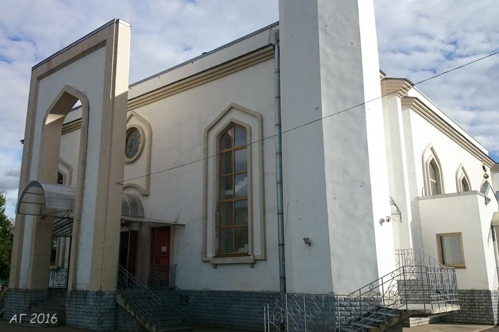 Квартальная мечеть Петербурга, 09.09.2016