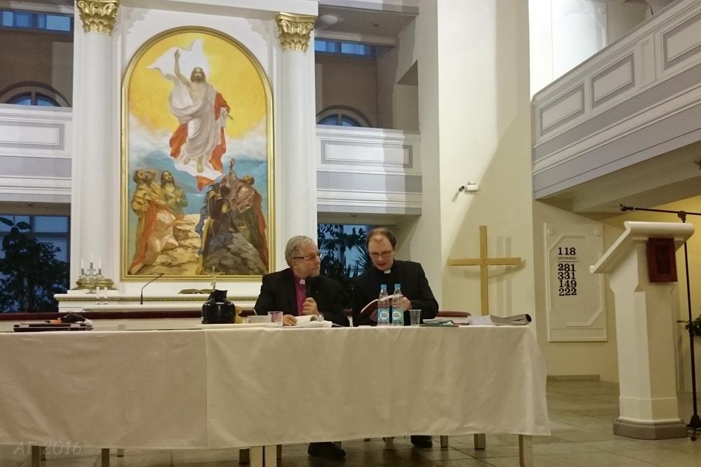 Синод ЕЛЦИ, церковь св. Марии. 14.10.2016