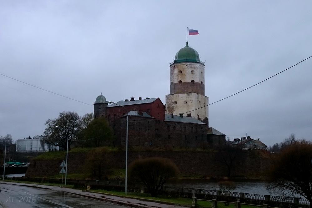 Башня Выборгского замка, 28.10.2016