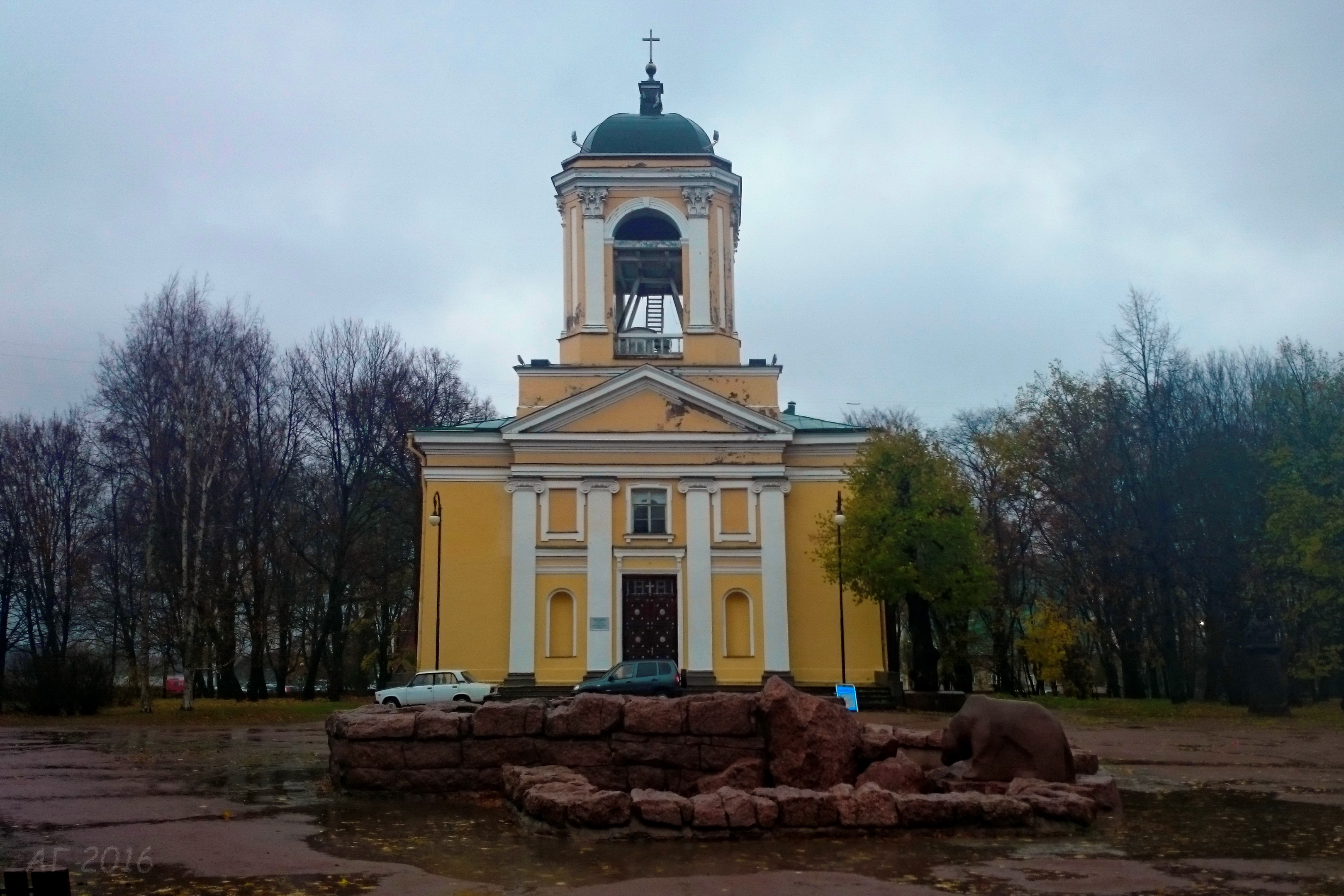 Лютеранский Собор Святых Петра и Павла, Выборг, 28.10.2016