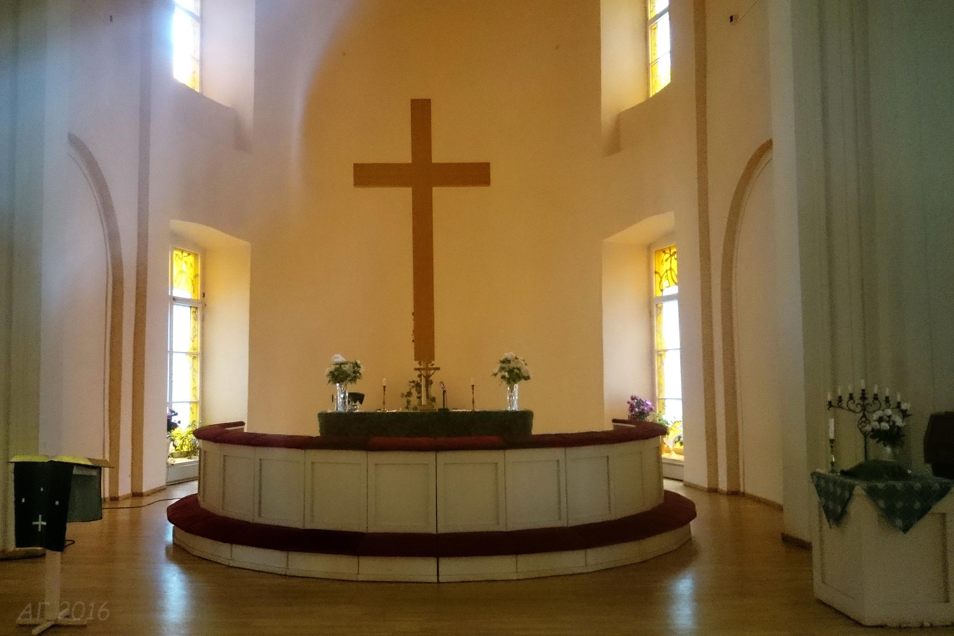 Алтарь, Лютеранский Собор Святых Петра и Павла, Выборг, 28.10.2016