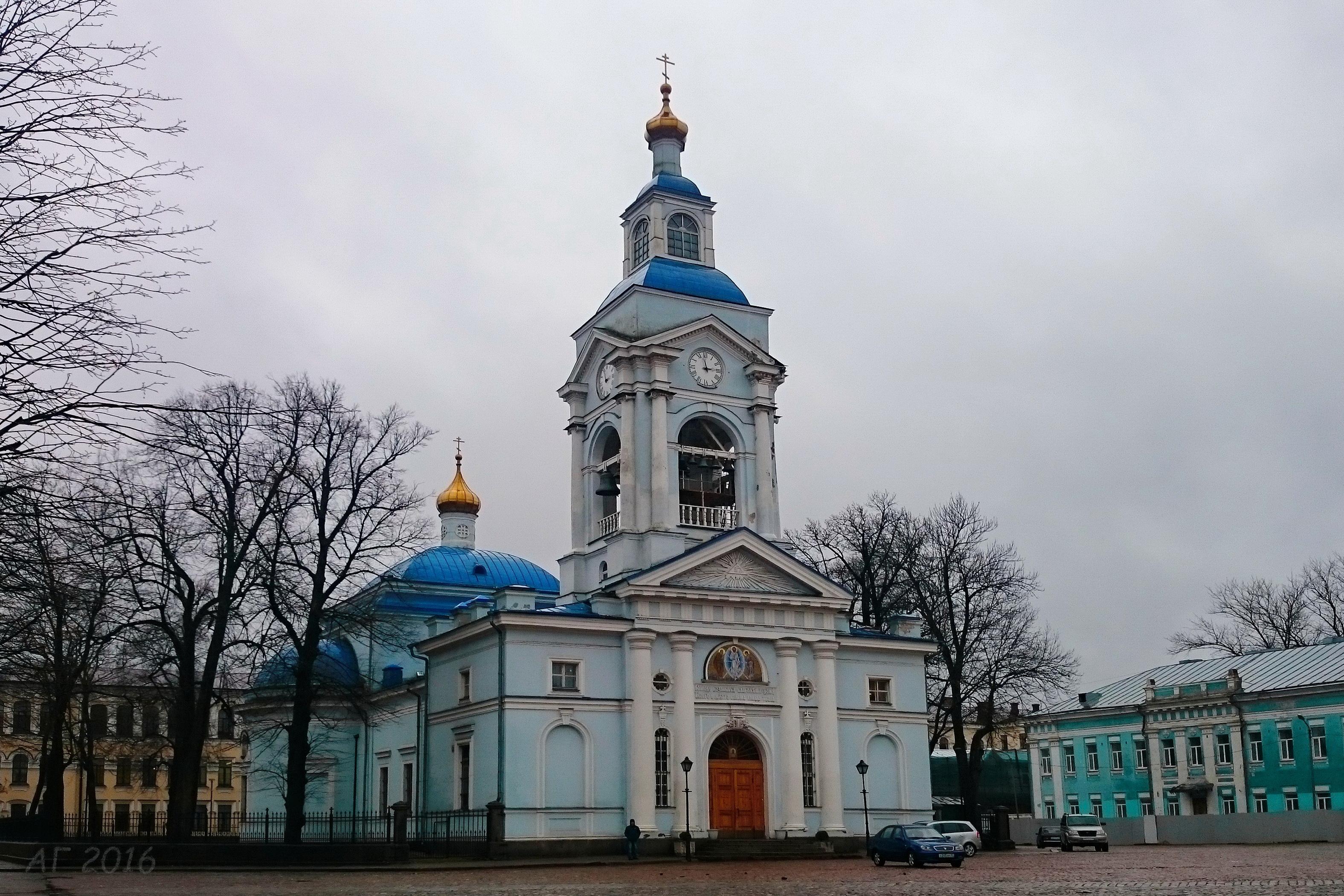 Спасо-Преображенский кафедральный собор, Выборг, 28.10.2016