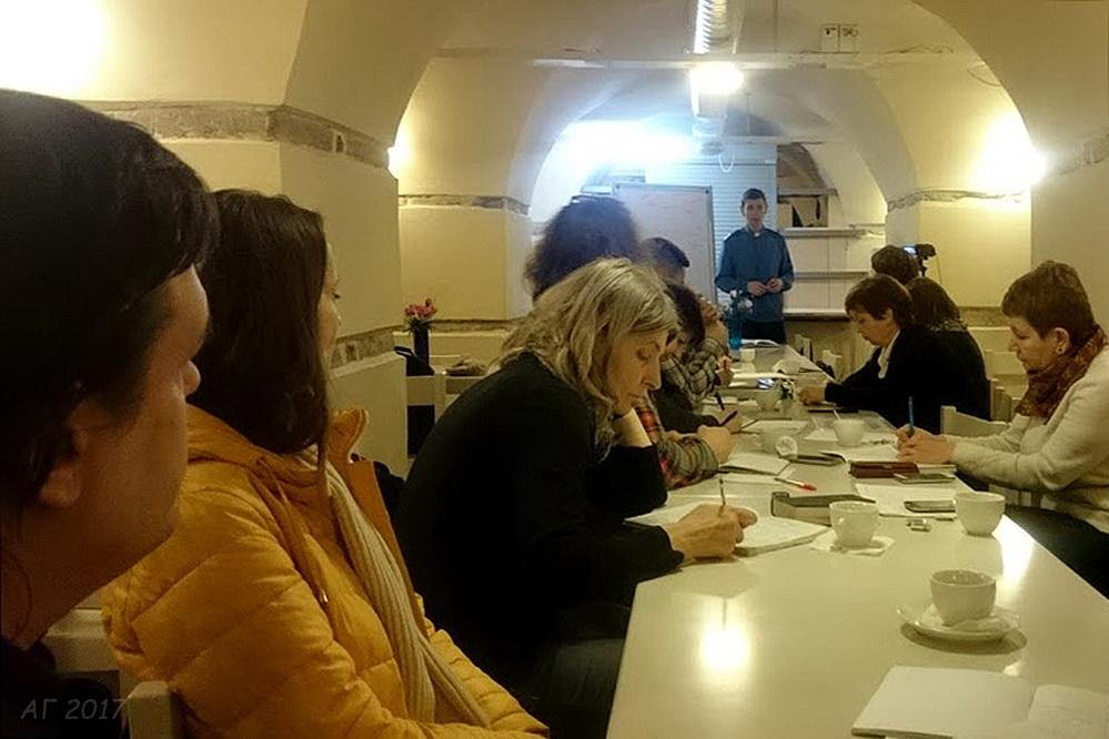 Лекция по литургике Фёдора Тулынина, церковь св. Марии ЕЛЦИ, 24.03.2017