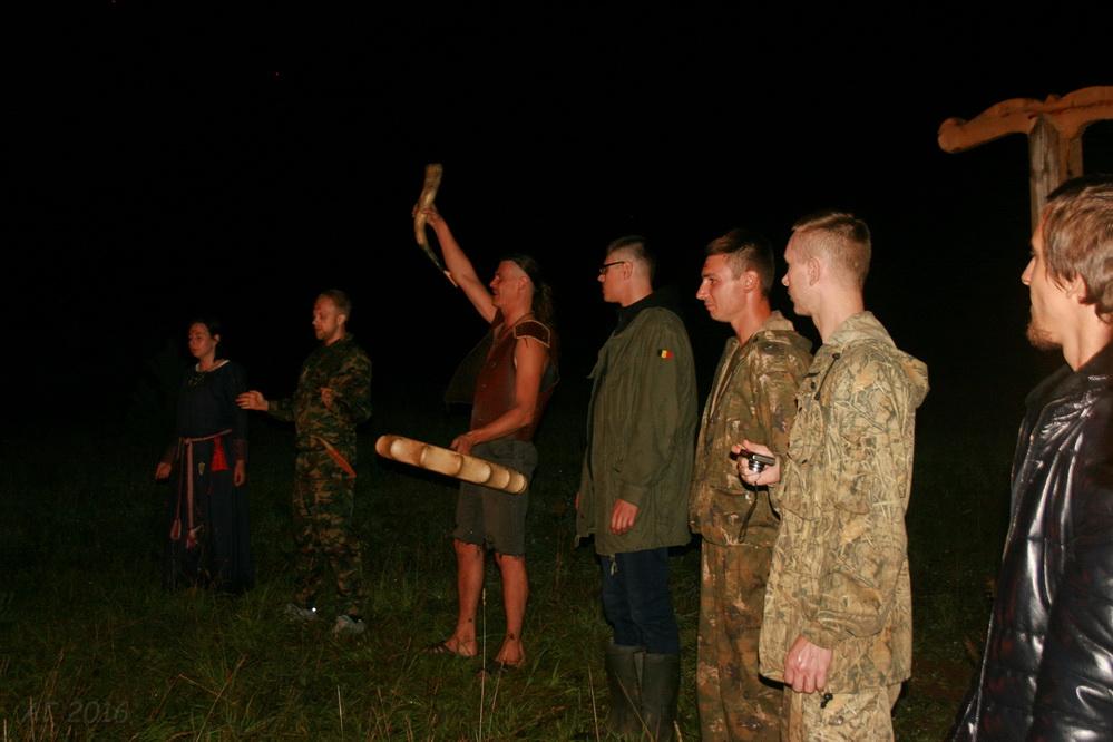 Альтинг-2016 (Alþingi-2016) и обряд Фрейфакси (Хлебного праздника), г. Тихвин, 20.08.2016 (фото: Алексей Гайдуков)