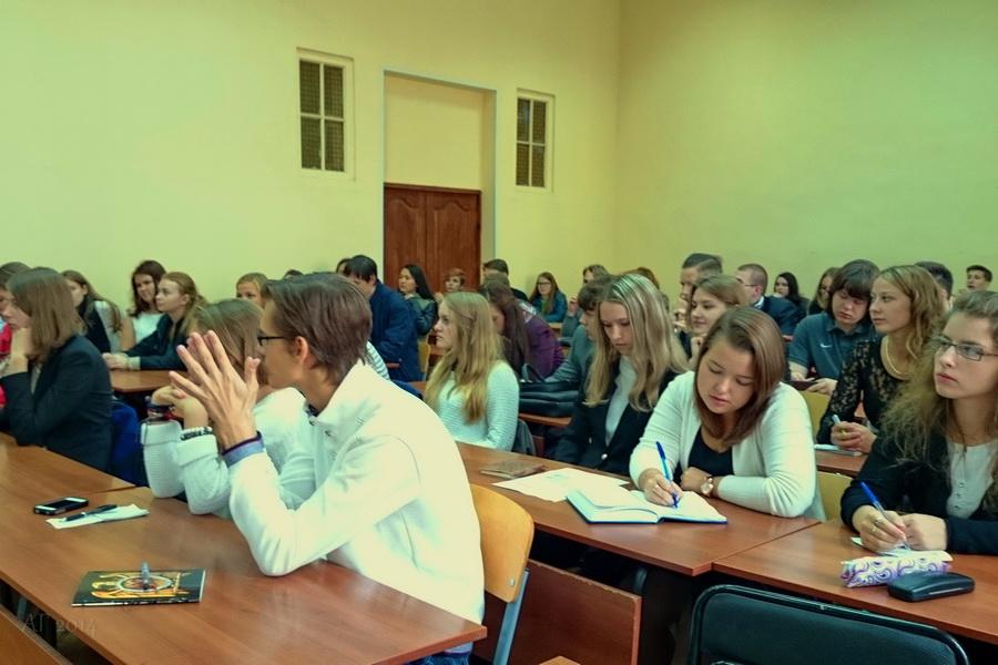 Встреча с первокурсниками, ФСН РГПУ им. А.И. Герцена,  01.09.2014