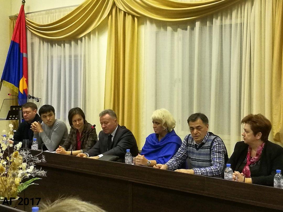 Заседание совета по межнациональному сотрудничеству, г. Всеволожск, 01.12.2017.