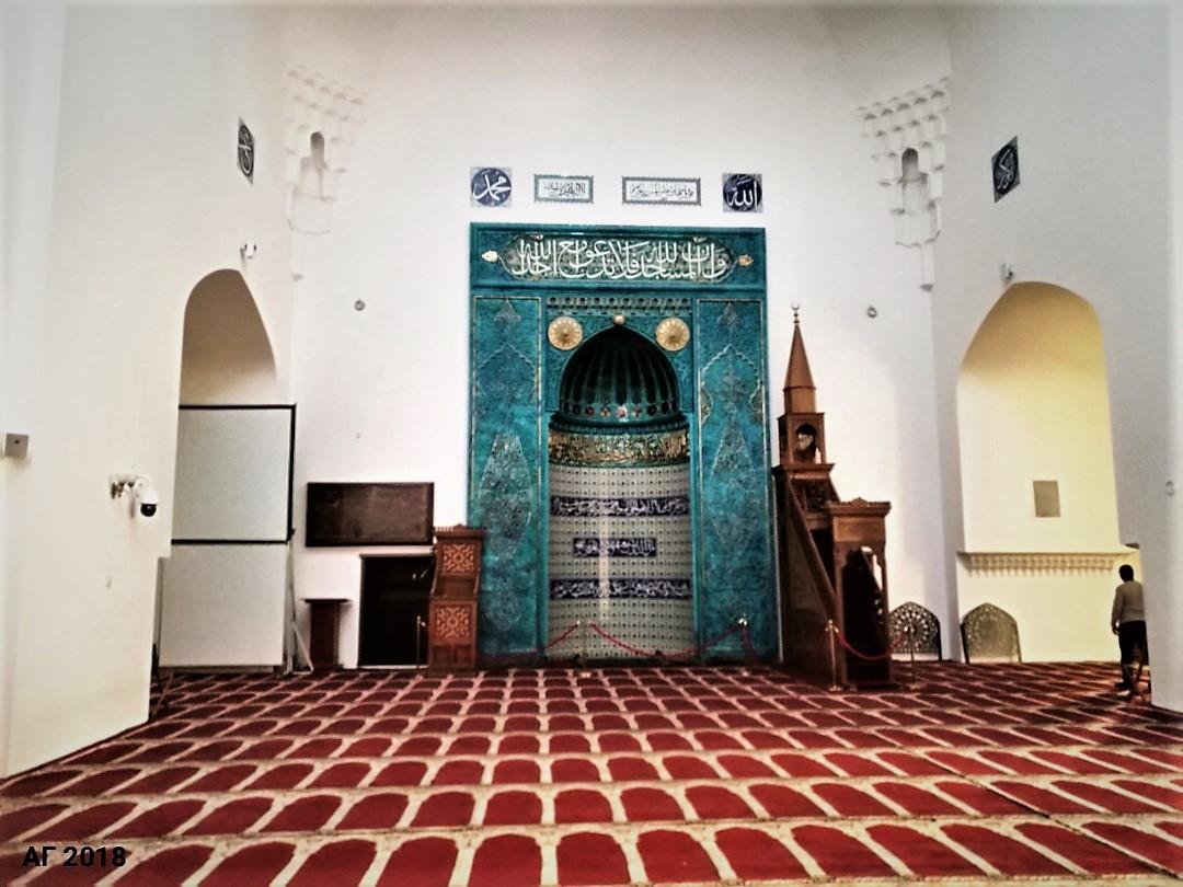 Михраб. Соборная мечеть Петербурга, 18.04.2018.