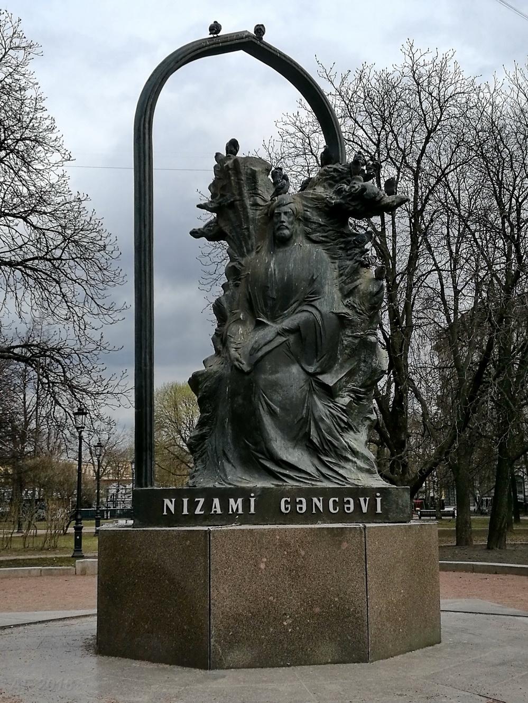 Памятник Низами, 29.04.2018
