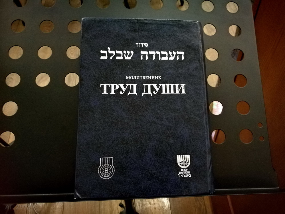 Труд души. Реформистская синагога «Шаарей шалом», 02.05.2018.