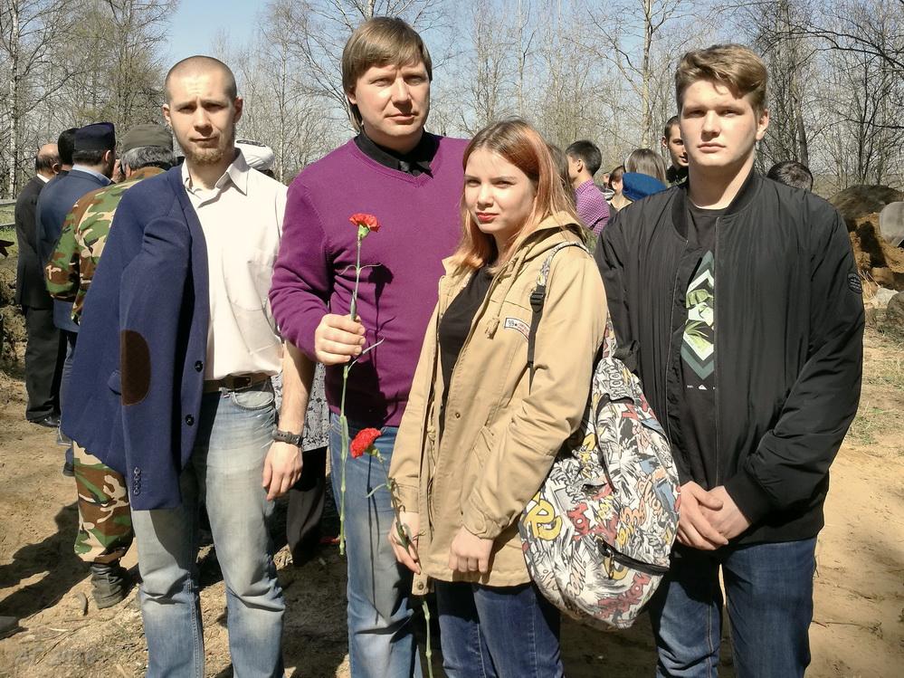 Религиоведы РГПУ. Синявинские высоты, 07.05.2018