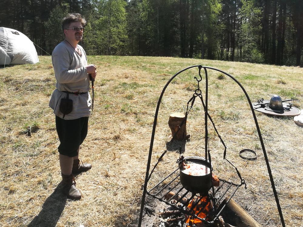Завтрак викинга. «Яра Живица», 13.05.2018