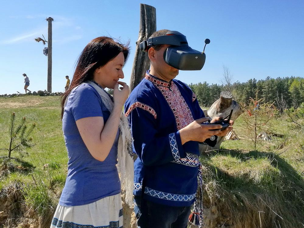 3-D наблюдатель  на фестивале «Яра Живица», 13.05.2018