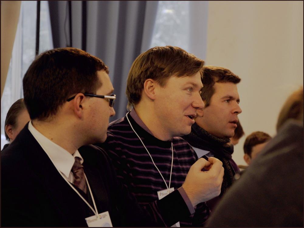 А.Гайдуков, И.Бурлаков. Выездной семинар с лидерами молодежных объединений по толерантности в молодежной среде, 01.12.2012
