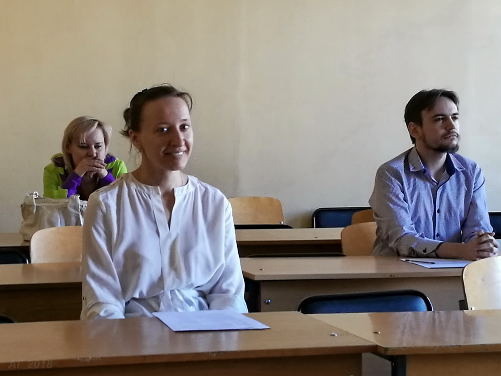 31 мая 2018 г.  выпускники магистратуры «История религии» РГПУ им. А.И. Герцена прошли итоговую аттестацию в форме решения профессиональных задач.