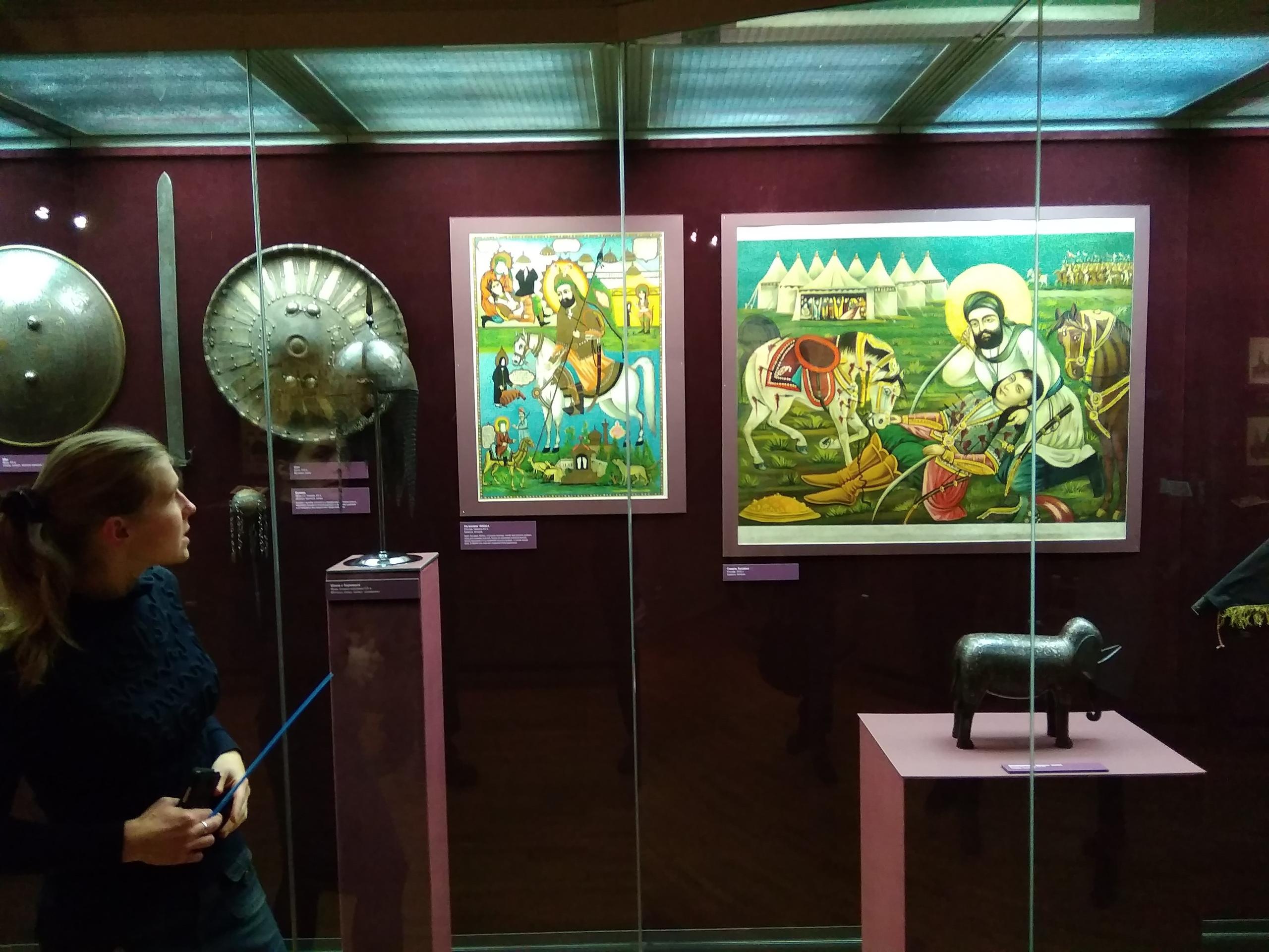 Выставка  «Али, являющий чудеса! От Мекки до Кербелы» в ГМИРе, 22.12.2018