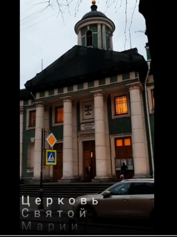 Чурзина фильм Лютеранские храмы Невского (кадр), 05.12.2019