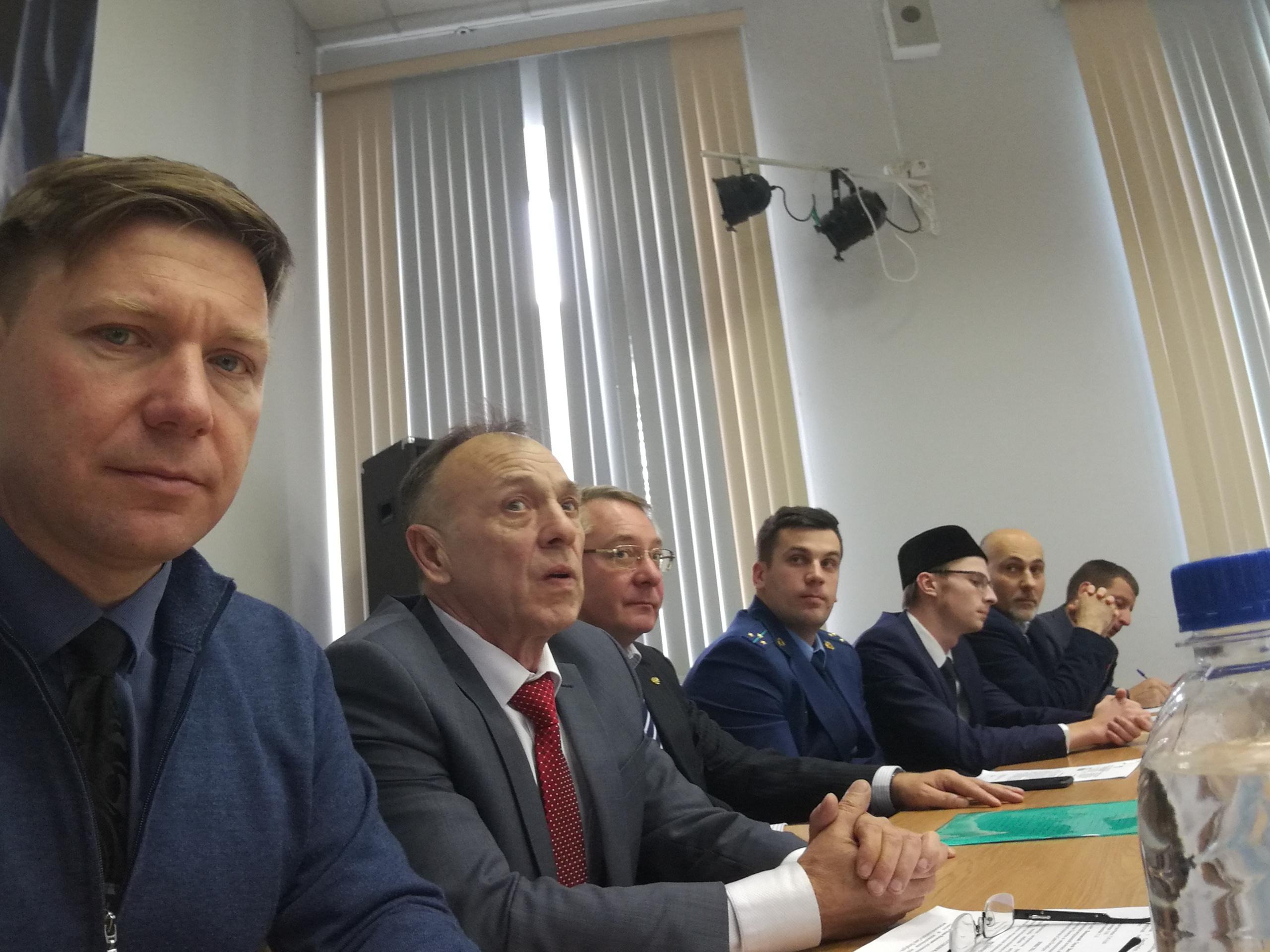 Докладчики. Семинар «Терроризм-угроза обществу», СПбГМУ, 30.10.2019
