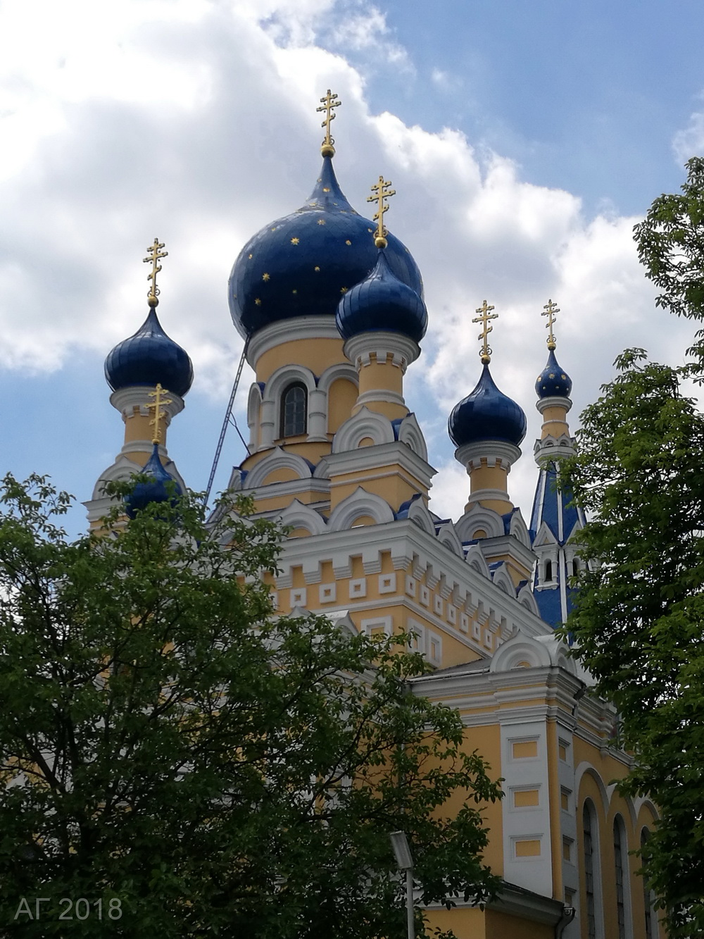 Церковь Святого Николая Чудотворца, Брест, 21.06.2018