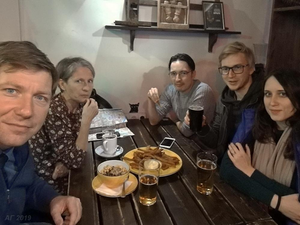 Дискуссии после конференции. VIII Международный конгресс исследователей Беларуси, Литва, Вильнюс, 28.09.2019