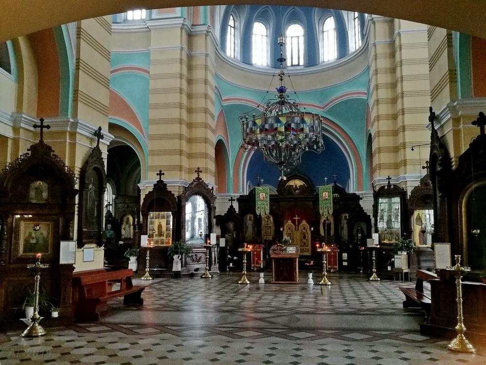 Знаменская церковь (Виленская и Литовская епархия РПЦ), Вильнюс, 29.09.2019