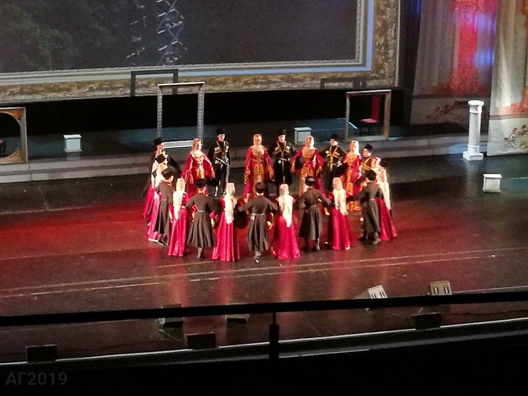 Абхазский танец. Гала-концерт, посвященный Дню национального единства, «Мы вместе!», БКЗ «Октябрьский», 12.11.2019.