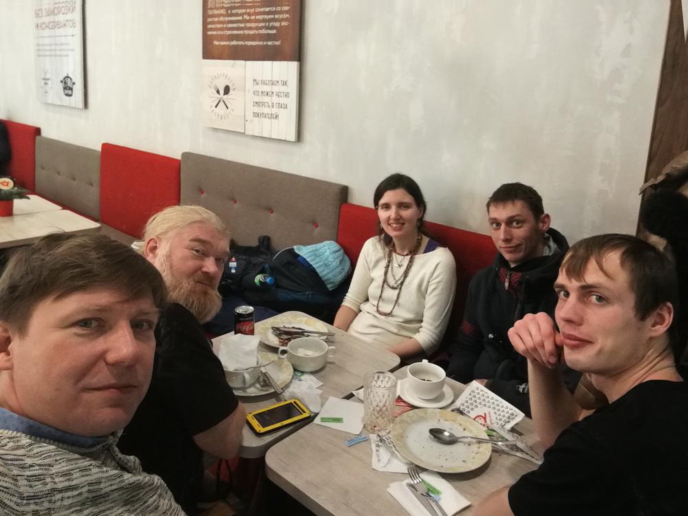Обсуждение встречи. с Ладой Корнеевой,  после  лектория общины «Велесье» 14.12.2019