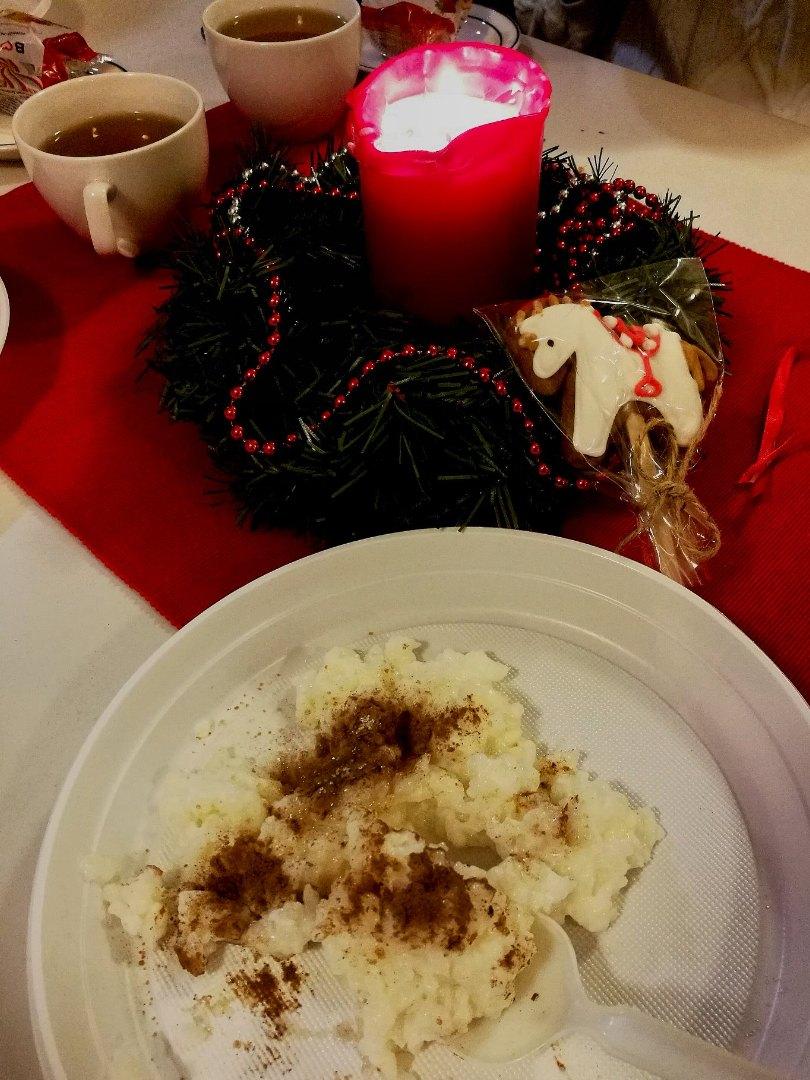 Рождественская рисовая каша с корицей в трапезной лютеранской церкви св. Марии, «Рождественский марафон», 24.12.2019