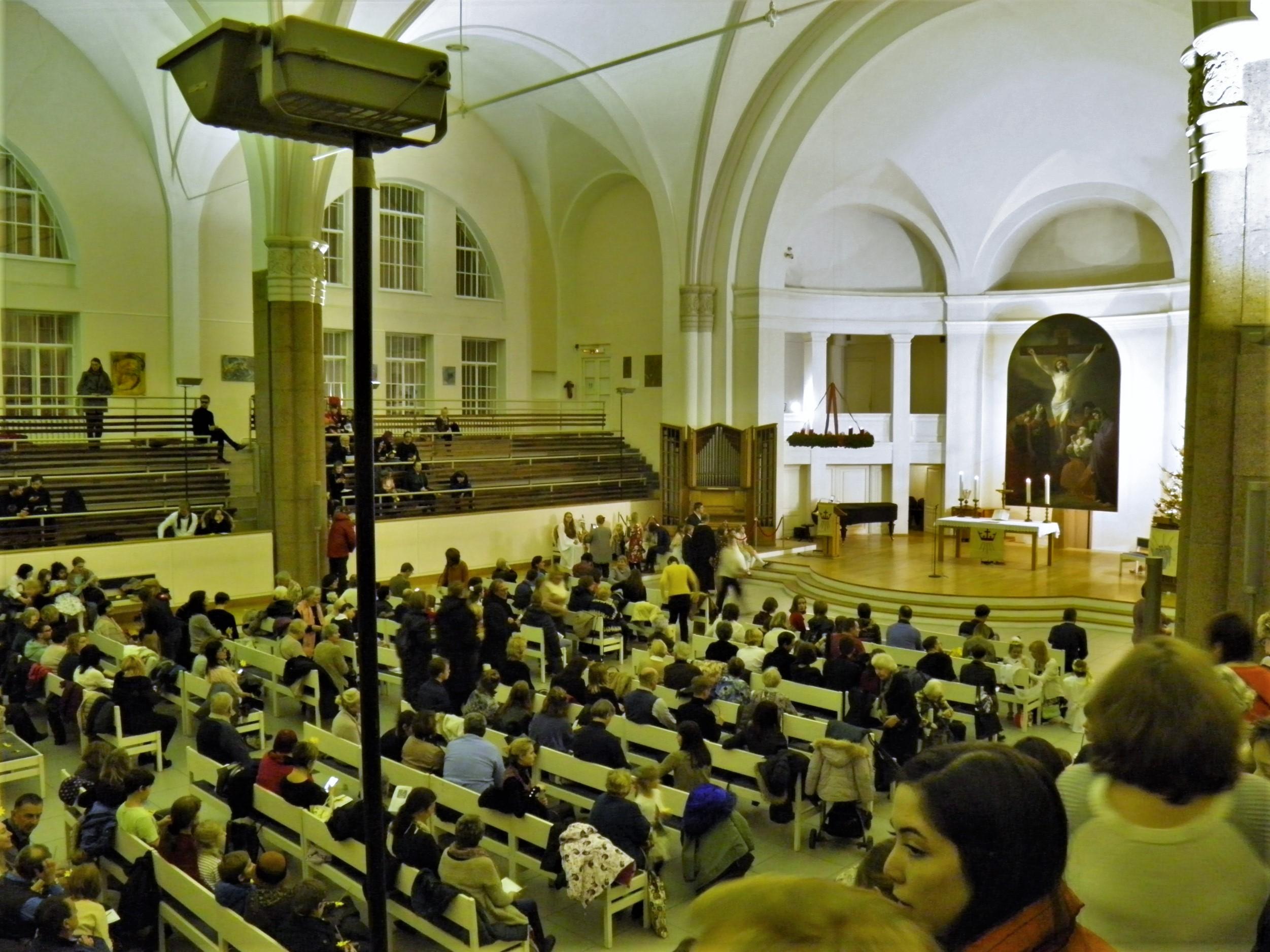 Богослужение в Сочельник, Петрикирхе, «Рождественский марафон», 24.12.2019 (фото: А.Камалдинов)