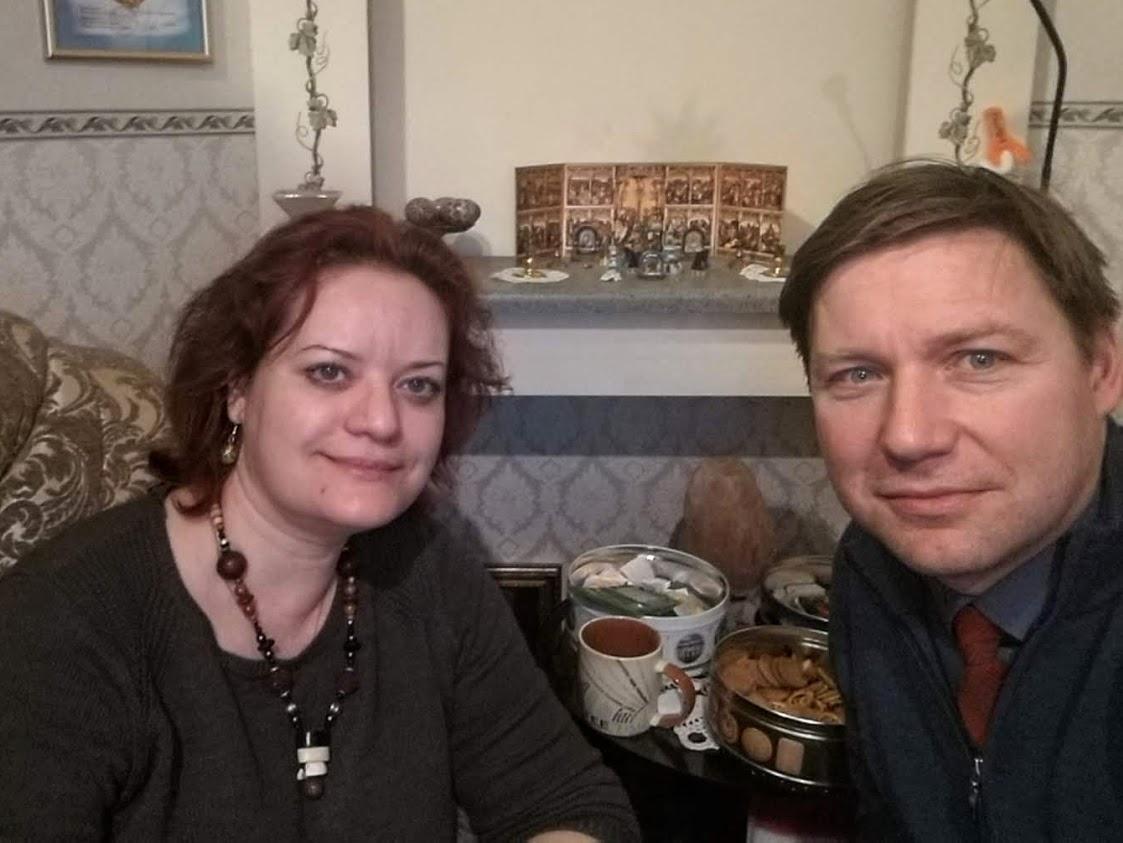 А.В. Гайдуков и Э.Ю. Жейдс, церковь св. Екатерины (ЕЛЦР), 25.12.2019