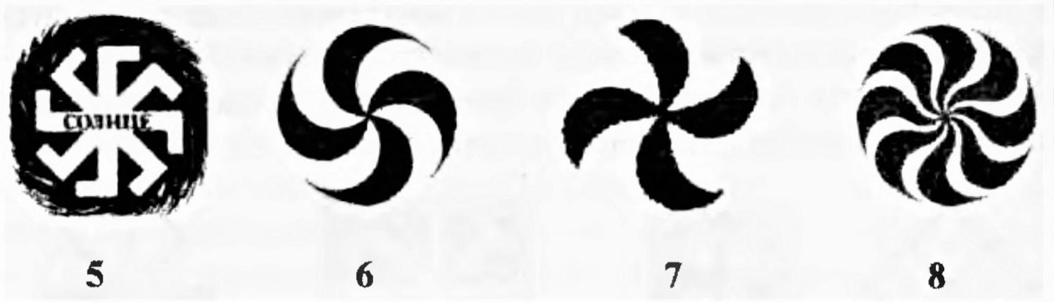 Гайдуков, А.В. Национальная идея в славянском неоязычестве 1999. Рис. 5-8