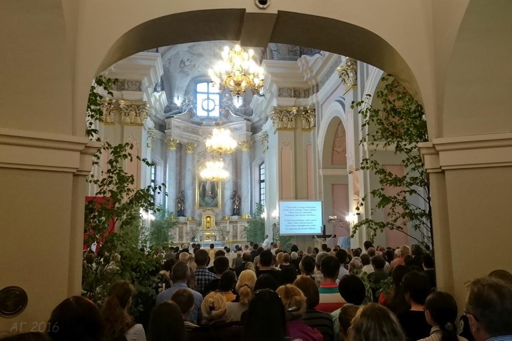 Архикафедральный костел Пресвятой Девы Марии, Минск, 26.05.2016