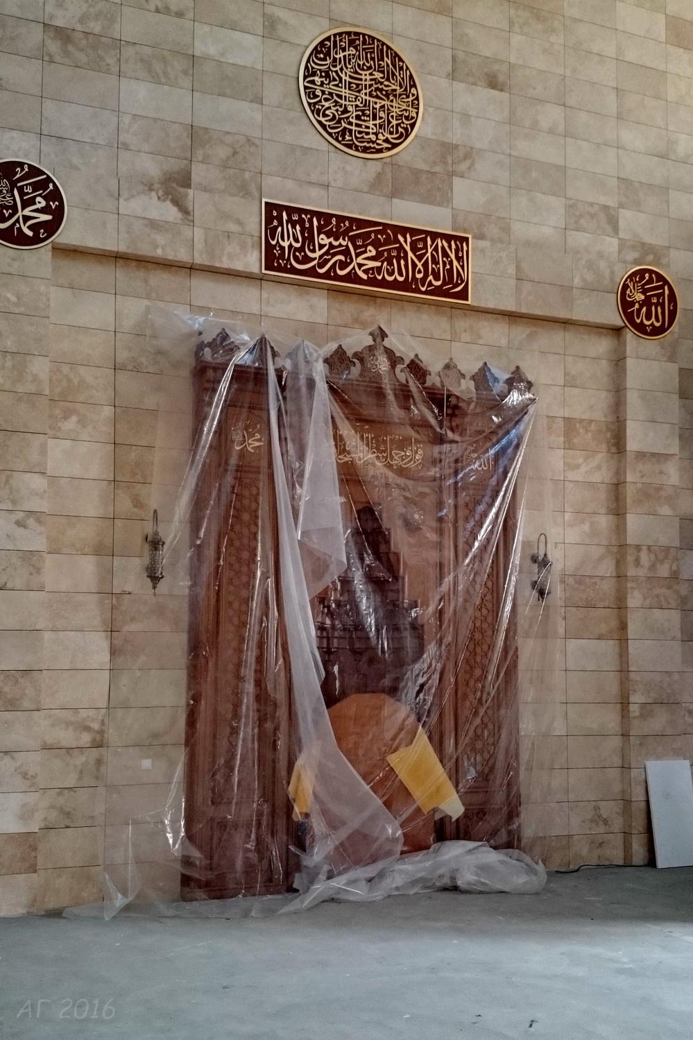 Мечеть г. Минска. Строительство. 27.05.2016