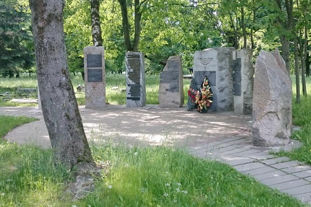 Мемориал в память о немецких евреях, депортированных в Беларусь и уничтоженных в Минском гетто, Минск, 28.05.2016