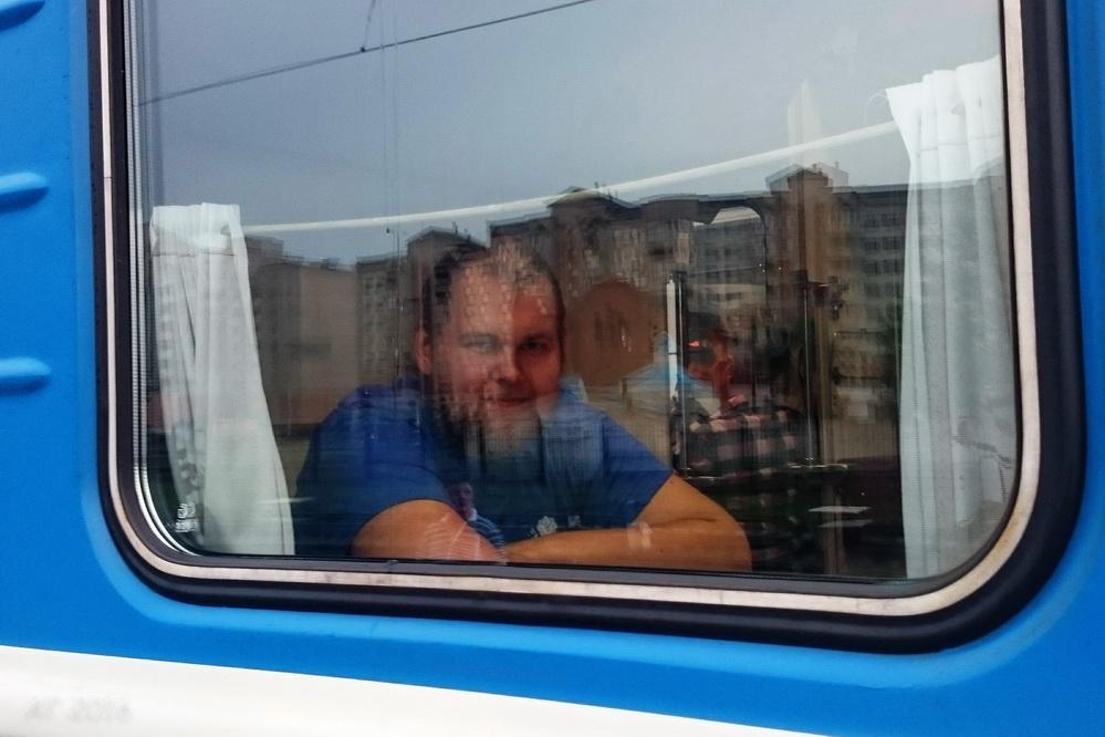 Даниил уезжает из Минска, 28.05.2016